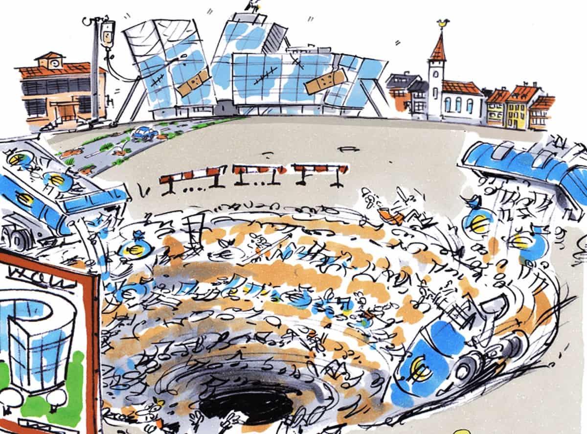 Bad Governance Deutschland Bauen