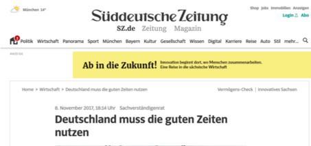 Fake News Beispiele SZ 8-11-2017