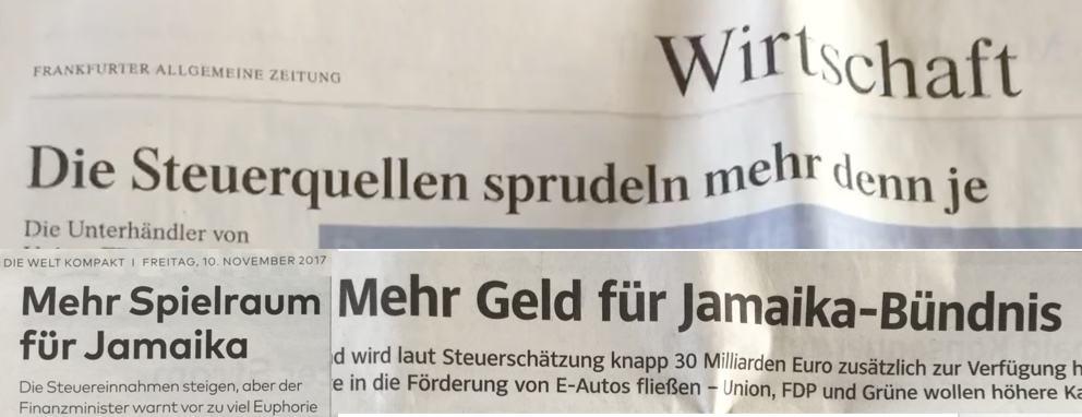 Falke News aber Hofberichterstattung FAZ-Welt-SZ