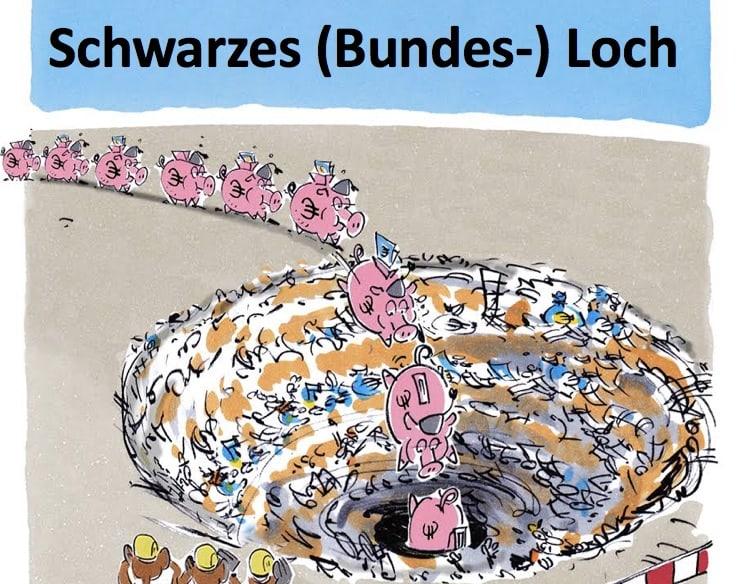 Schwarzes Loch Bad Governance Regierungskritik