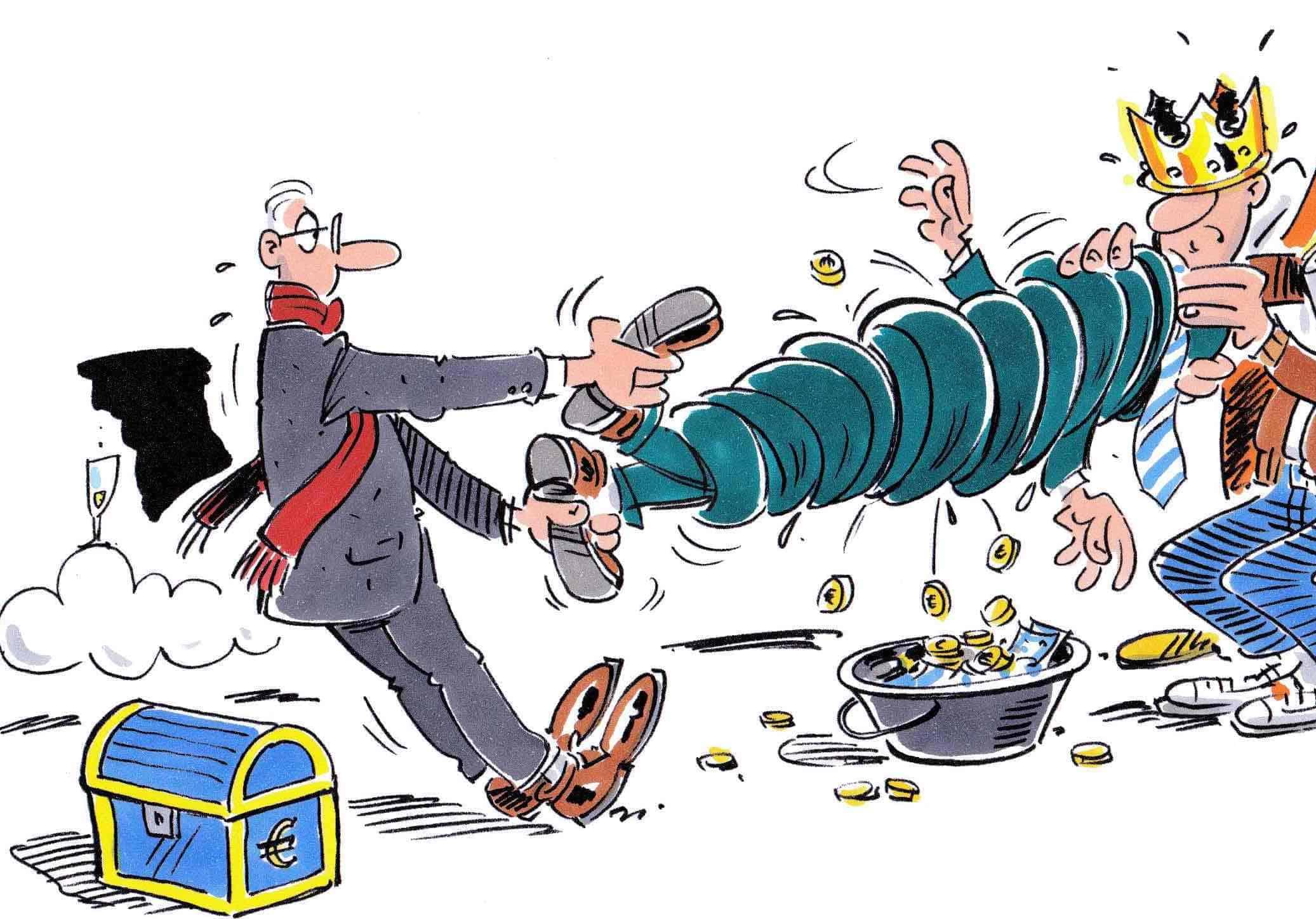 Bad Governance Regierungskritik Steuerzahler Behandlung