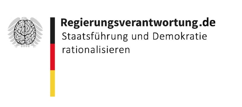 Logo Staatsführung Demokratie rationalisieren