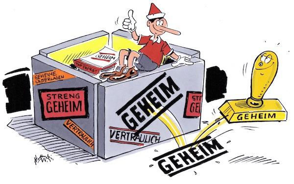 Geheimhaltung Politsches System Deutschland