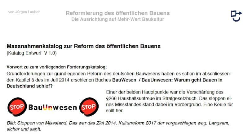Politischen System Deutschland aendern Bauen