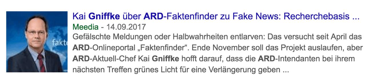 ARD Fake New Aufpasser Kai Gniffke
