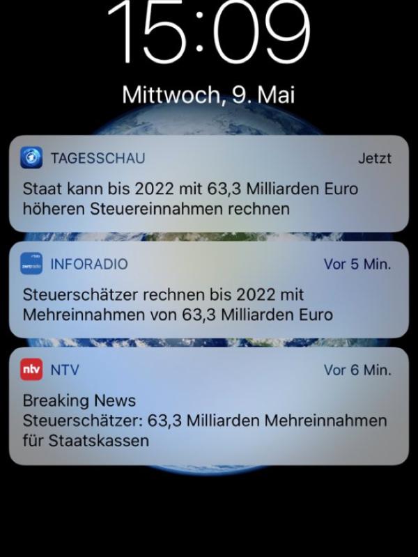 Breaking ARD Tagesschau Fake News Beispiel