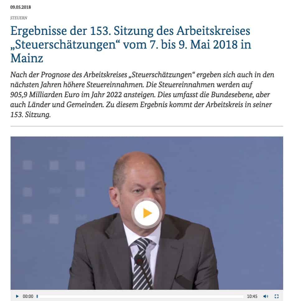 Scholz ARD Tagesschau Fake News Beispiel