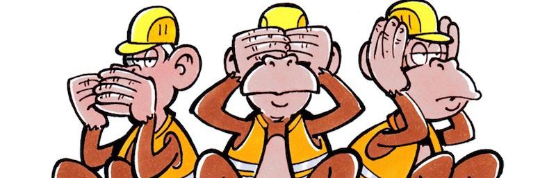 Die drei Affen - Politische Ignoranz