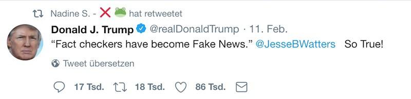 Fakten Checker Bluff ZDF ARD Trump